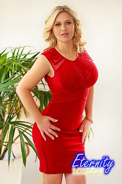 Cassidy big boob blonde