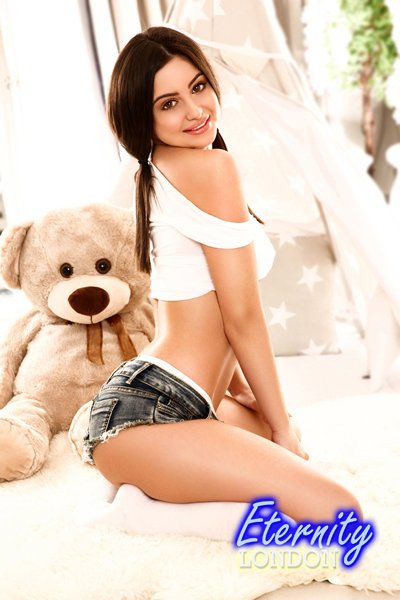 36B Petite Skinny Uniforms Massage London Escort Giuseppa